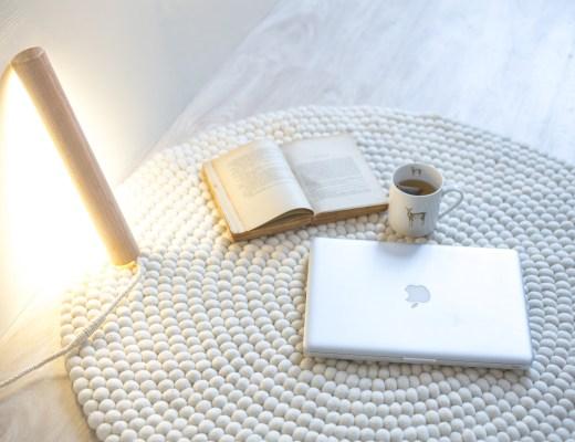 luminaire en bois DIY création décoration