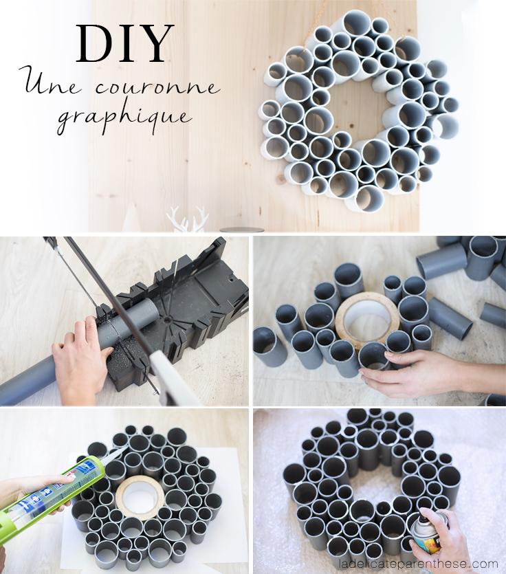 DIY création handmade pas à pas création couronne