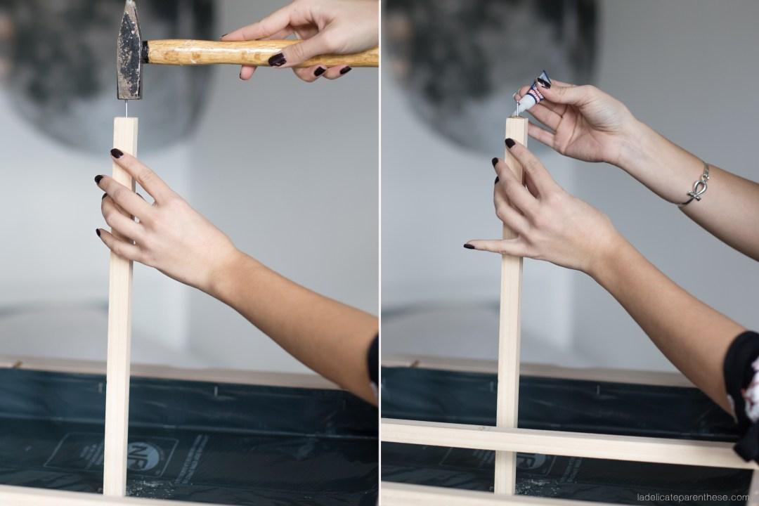 serre d'intérieure DIY blog décoration Ikea hack