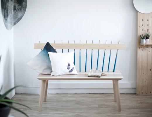 home création DIY transformer une table basse en banc