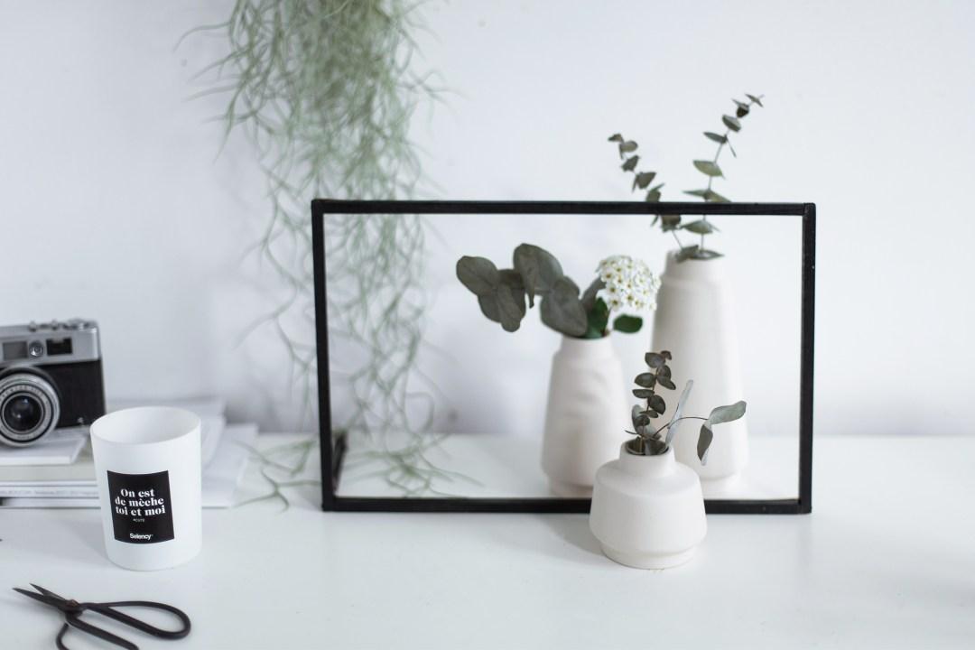 home DIY handmade blog cadre lumineux