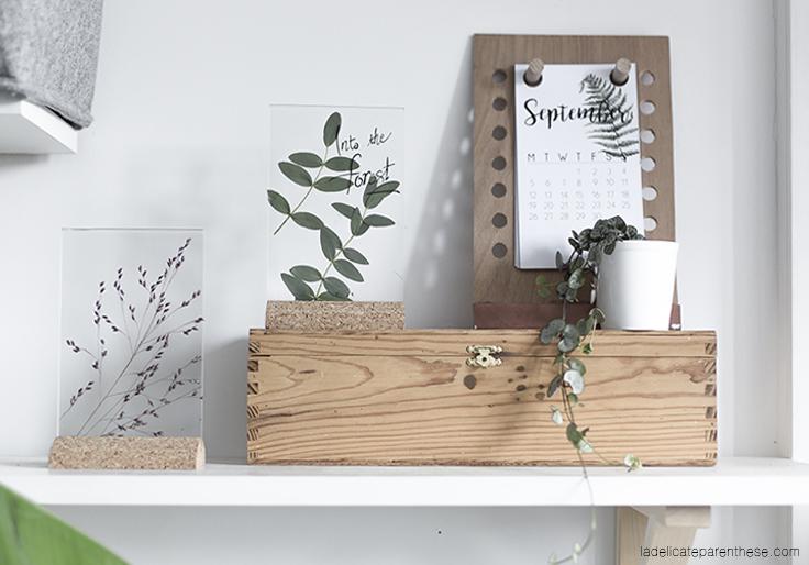 Détourner un cadre en herbier grace au ikea hack