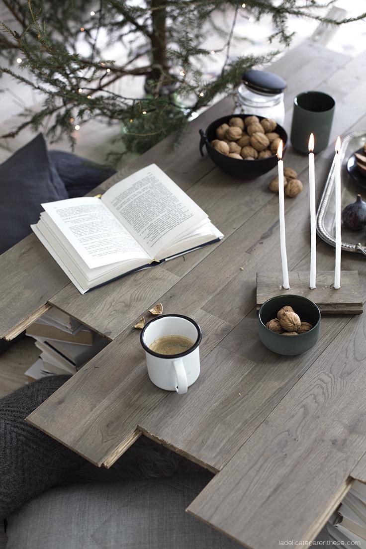 création DIY-handmade table de noel CSF