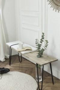 DIY création d'un banc minimaliste