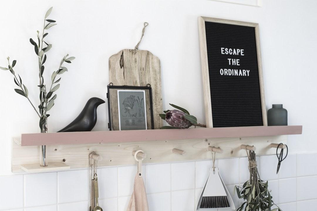 Home création rangement de cuisine mural
