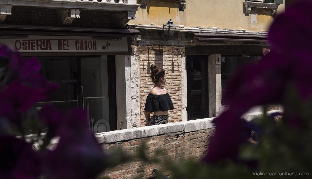 découverte de l'italie sur les canaux venitiens