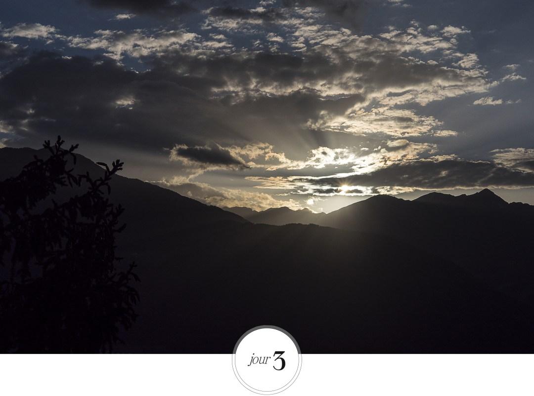 Sud tyrol en italie view, sky roadtrip dans les dolomites