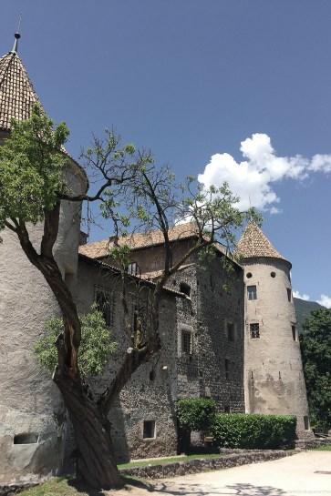 Bolzano chateau découverte Italie