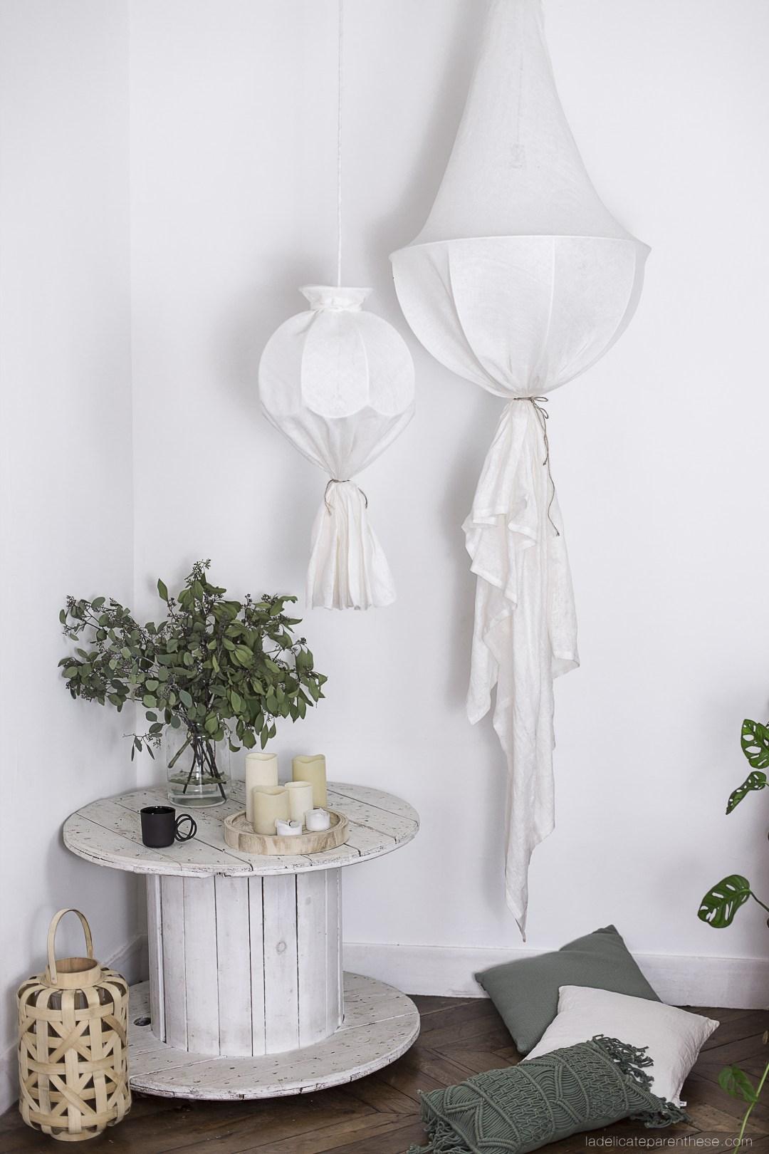 Do it yourself lustre inspiré des Koushi Wabi Sabi pour Noel