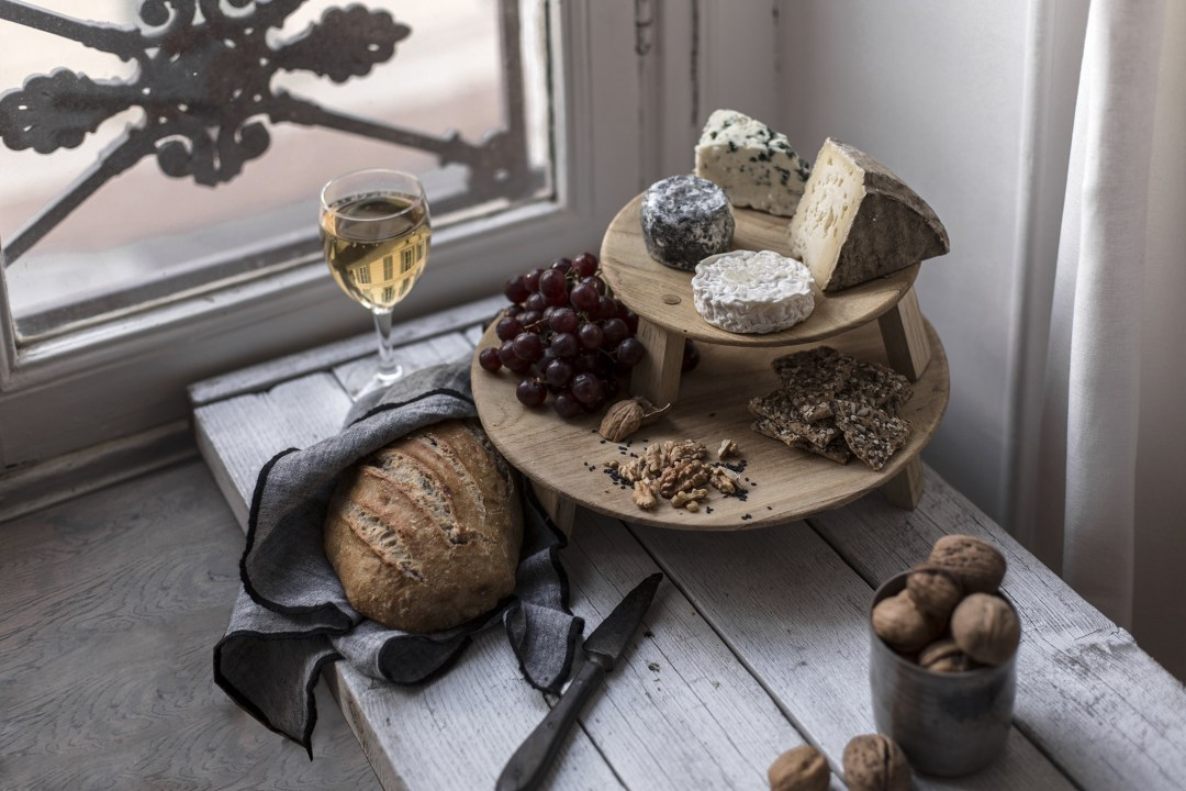 Home plateau fromages création craft Do it yourself