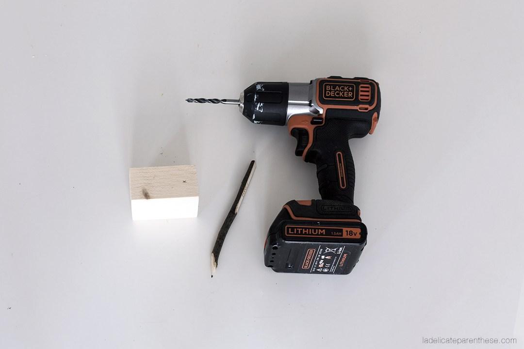 Création DIY handmade luminaire