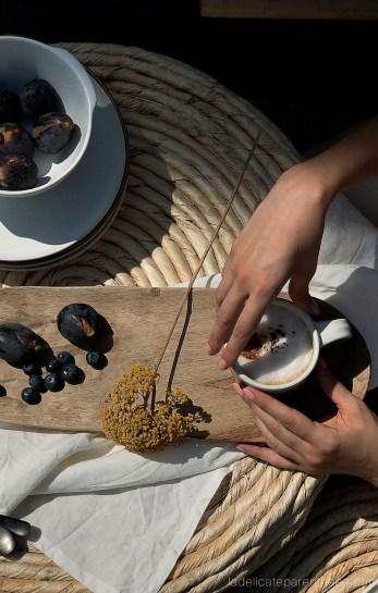 Scénographie moment de vie café en rooftop