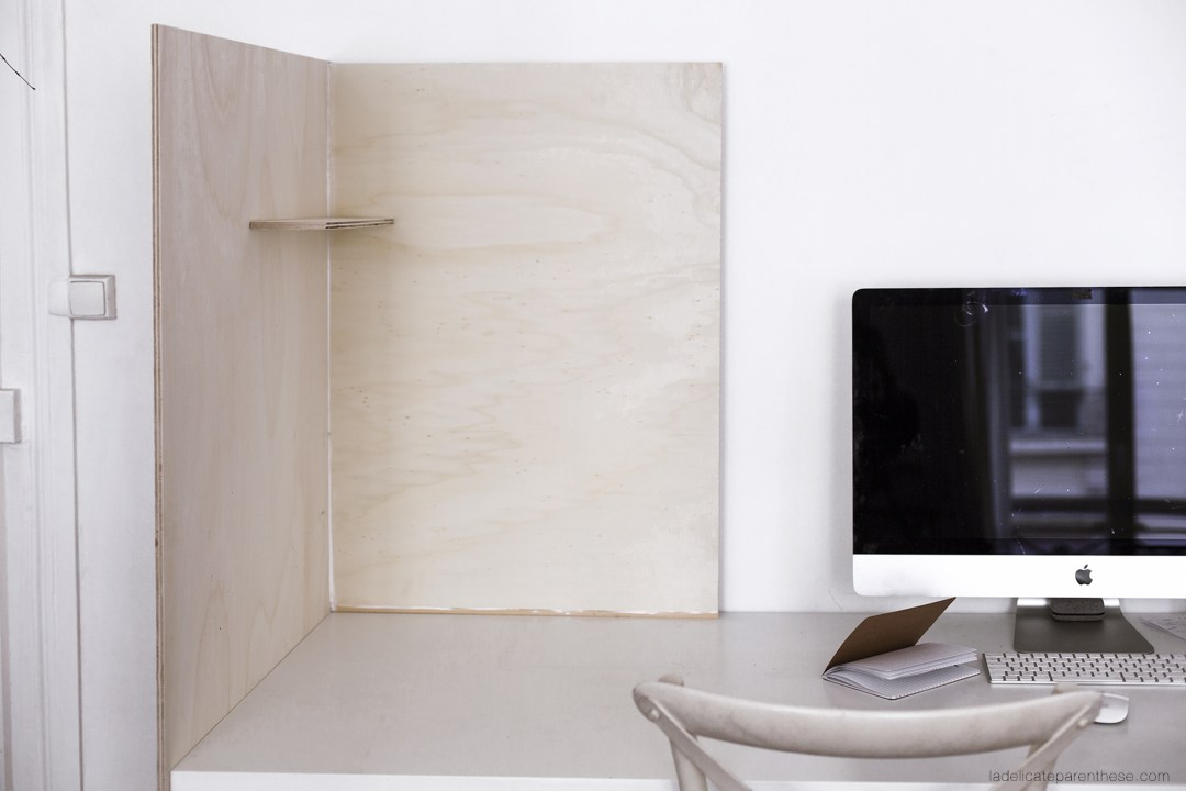 création d'un meuble en bois