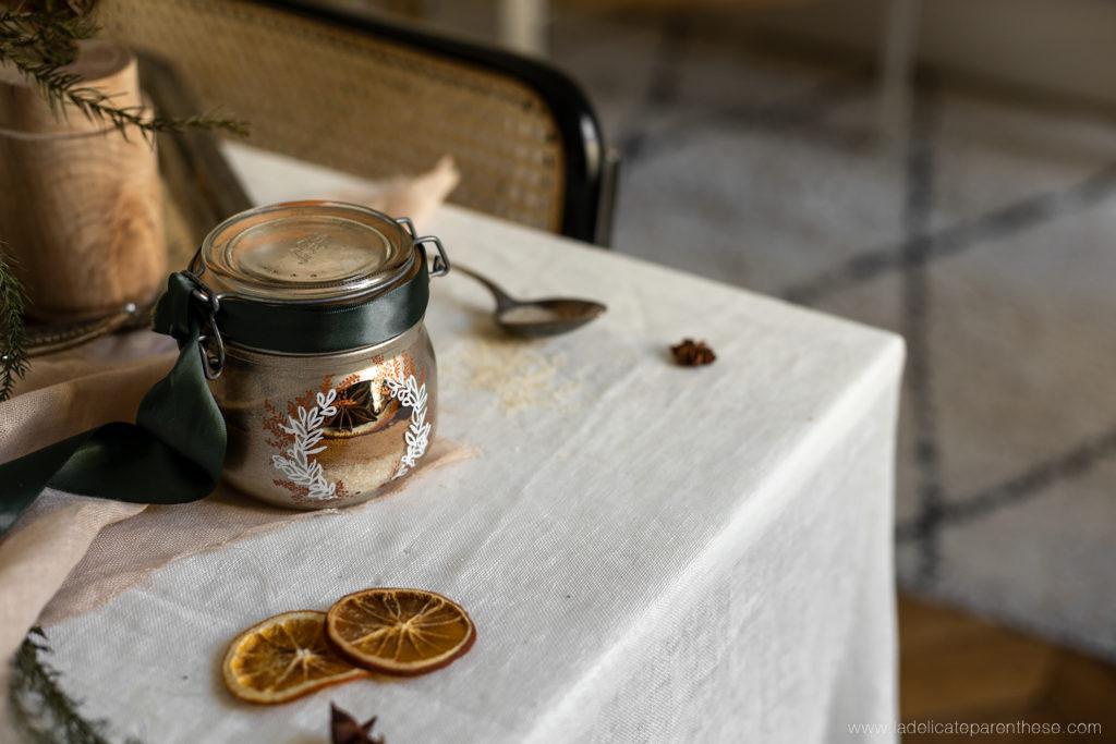 un bocal personnalisé pour un noel homemade