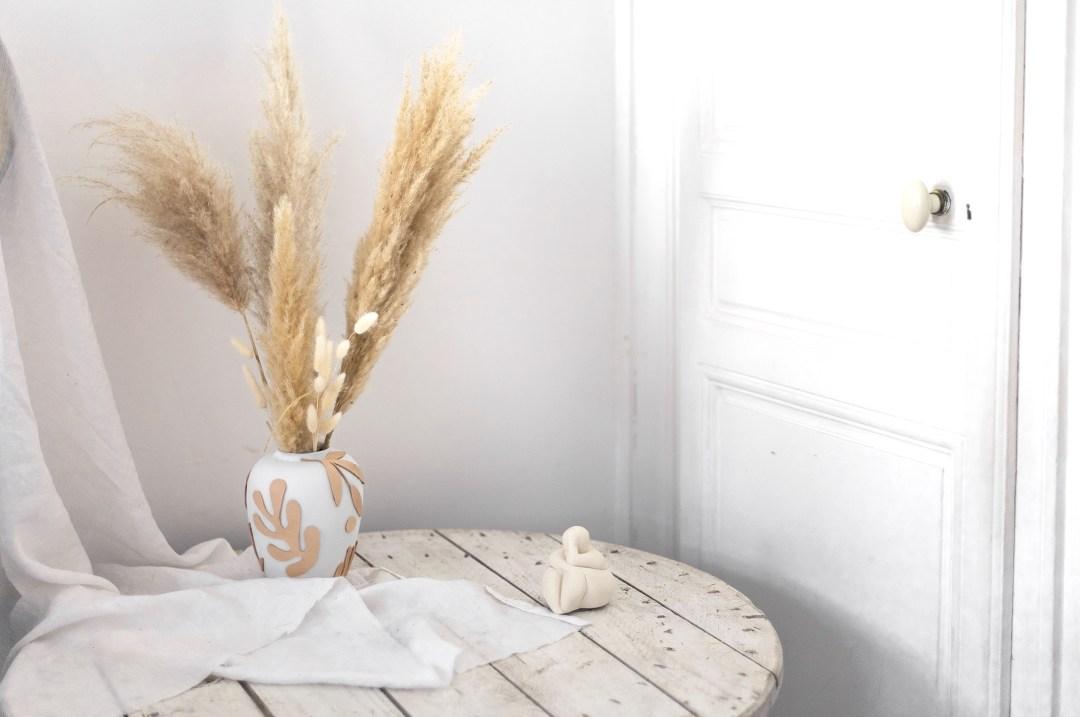 Couverture vase DIY cricut machine
