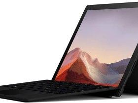 Solde Amazon : Promo actuelle à - 327 € sur l'ordinateur portable Surface Pro 7 Noir bon plan