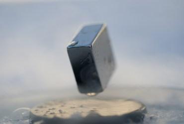 objets en lévitation magnétique