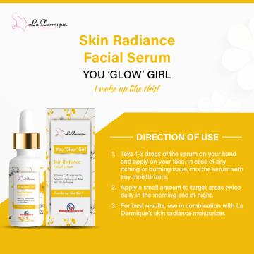La dermique You glow girl facial serum 3