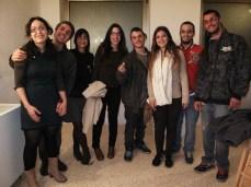 Alguns dels organitzadors d'edicions de La Descomunal
