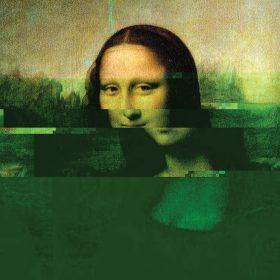 Glitch d'affichage sur la Joconde - La Déviation