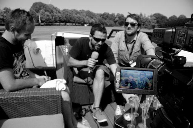 Mermonte en interview aux VIeilles Charrues pour La Déviation - 05 - Crédits Sylvain Ernault