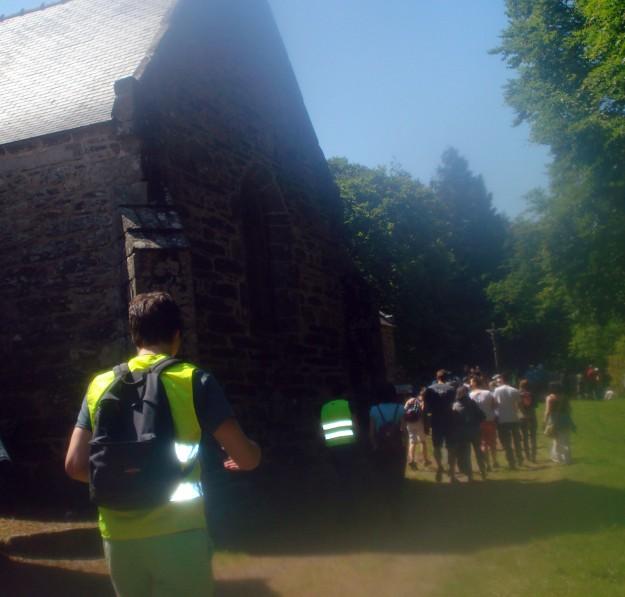 Premier lieu, la chapelle Saint Gildas.