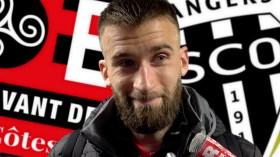 Interview de Lucas Deaux, seul buteur lors de Guingamp - Angers le 23 février 2019 - La Déviation
