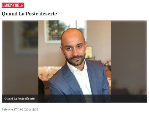 200327 - Quand La Poste déserte Jean-Nicolas Baylet - La Déviation