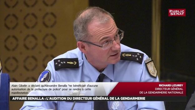 200407 - Le général Lizuray auditionné par les sénateurs dans l'affaire Benalla by Public Sénat - La Déviation