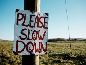 200512 - Please Slow Down by John Reynolds CC BY-NC-ND 2.0 - La Déviation