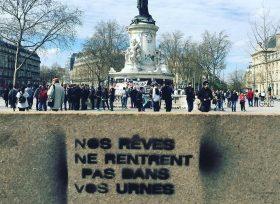 200528 - Nos Rêves ne rentrent pas dans vos urnes place de la République Paris La Rue ou rien - La Déviation