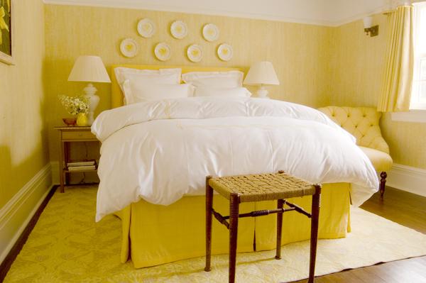 Yellow Bedroom Decor Country