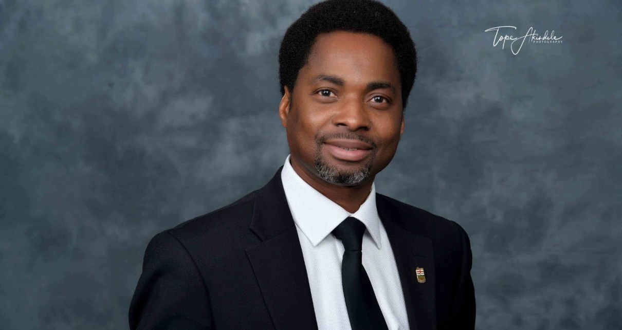 Tunde Obasan, Chairman of Conservative Black Congress of Canada