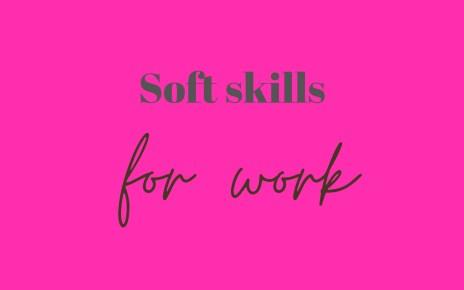 Soft skills at work