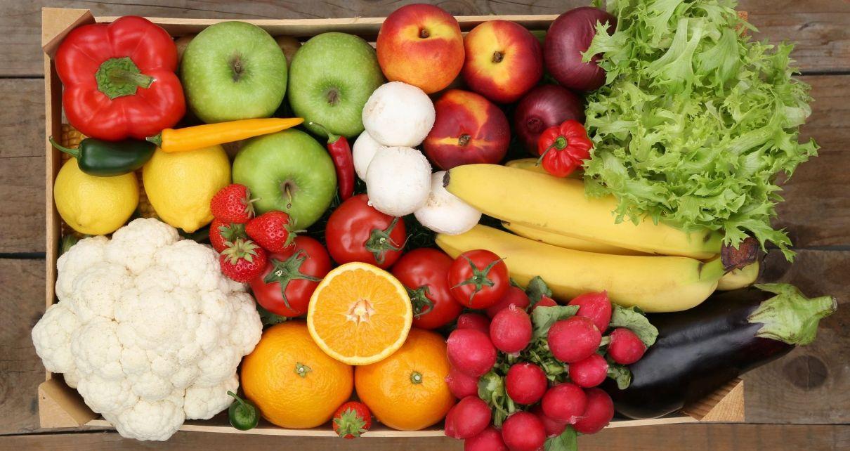 A box of food