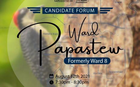 Candidate Forum for ward Papastew