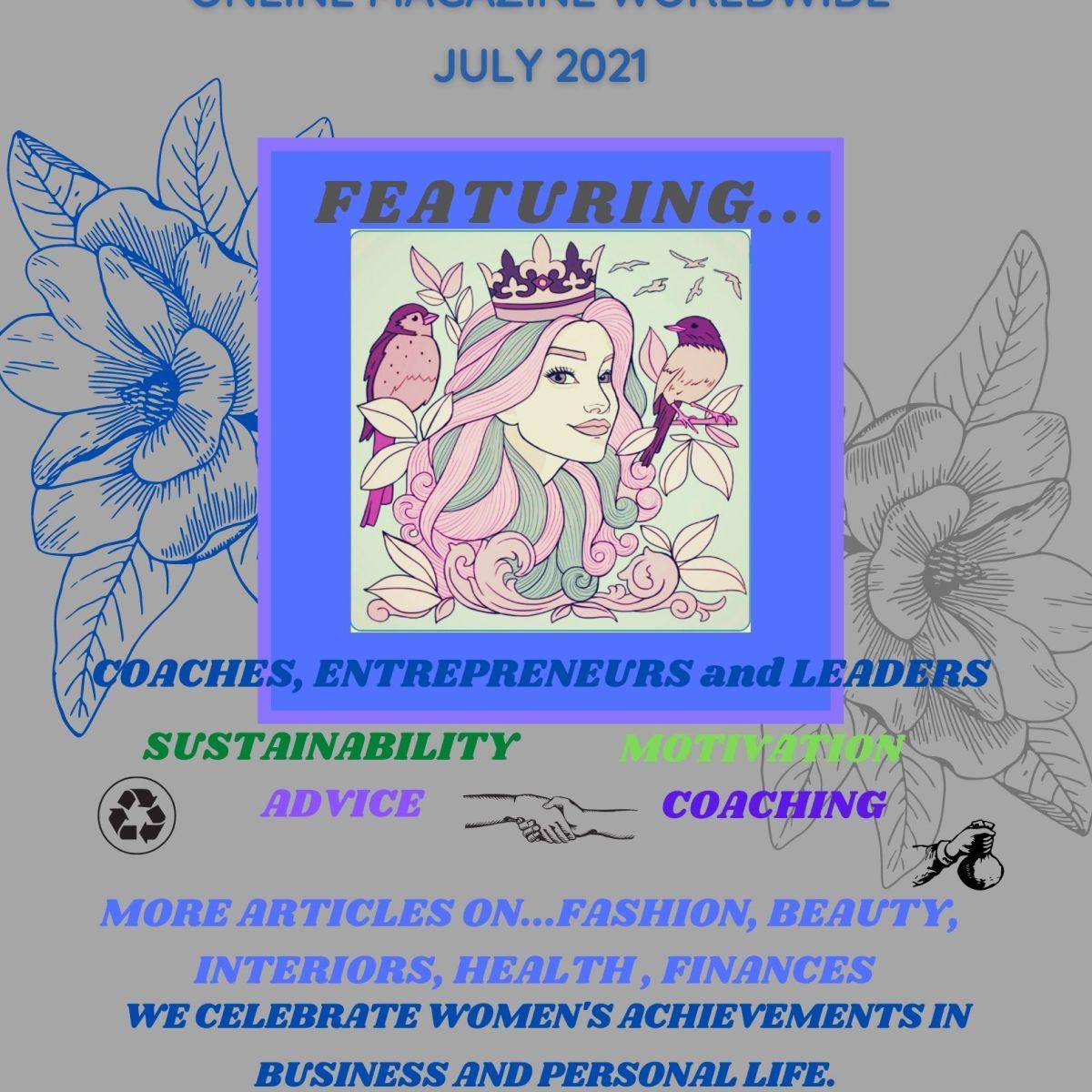 Ladies Enrichment Club Worldwide July 2021 Online Magazine