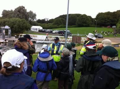 Safety Session at Rutland