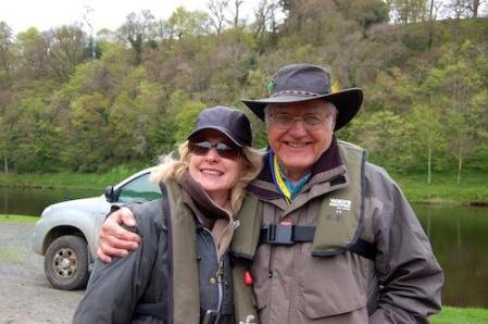 Lucy with Cliff Johnston