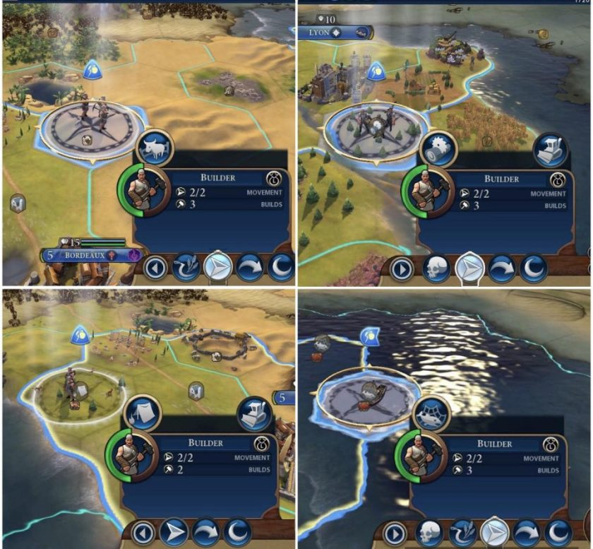 Civilization 6 (Switch) Beginners Guide 2: builders and
