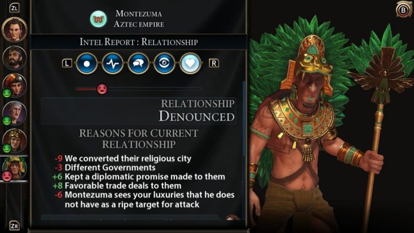 Civilization 6 (Switch) Beginners Guide 7: Diplomacy
