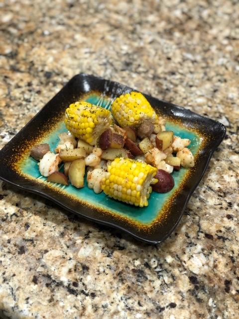 Shrimp & Sausage Boil