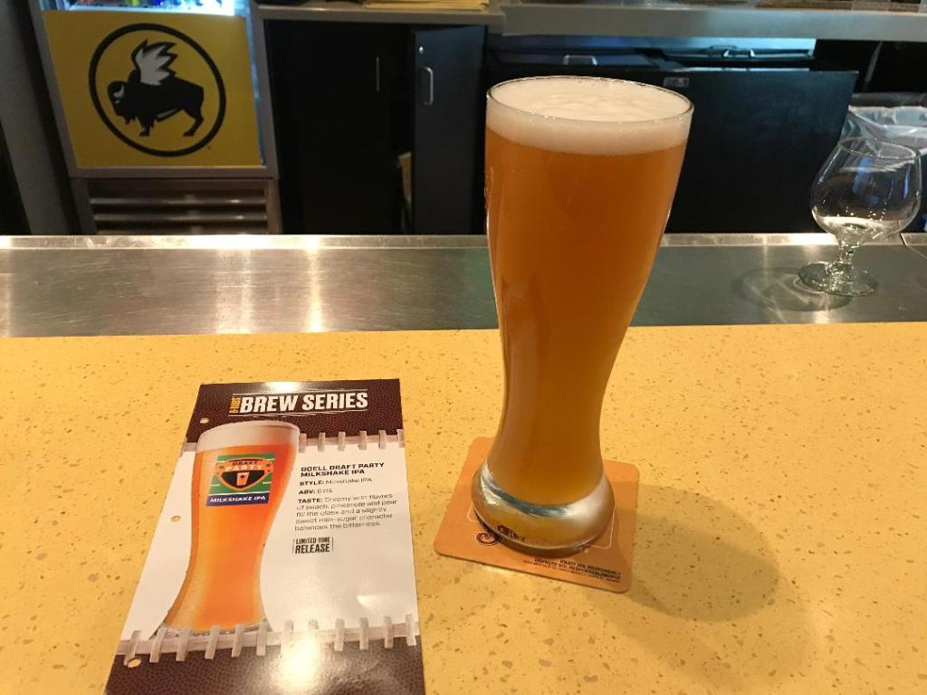 Buffal Wild Wings Fantasy Football Draft Beer Series. One of the best places to host your fantasy football draft party