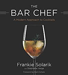 Bar Chef a cocktail book written by Frankie Solarik.