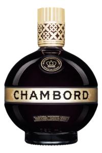 A bottle of French Chambord Liq