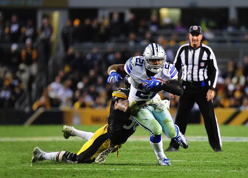 NFL Dallas Cowboys Running Back Ezekial Elliott