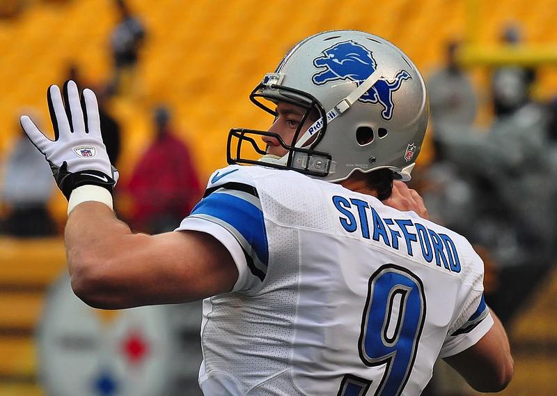 NFL Detroit Lions quarterback Matthew Stafford