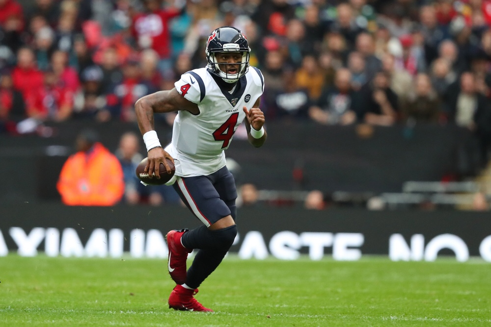 NFL Houston Texans quarterback Deshaun Watson