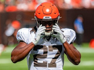 NFL Cleveland Browns running back Kareem Hunt