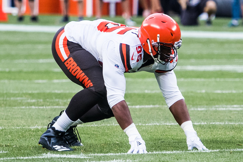 NFL Cleveland Browns defensive end Myles Garrett photo by Erik Drost from flickr